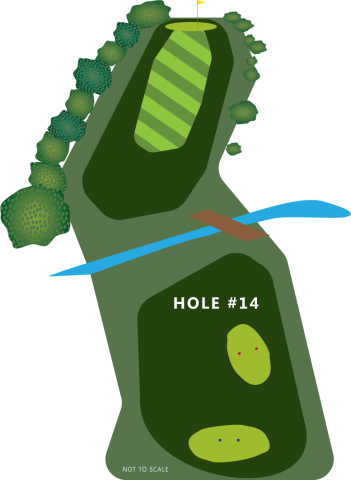 Hole 14 Illustration