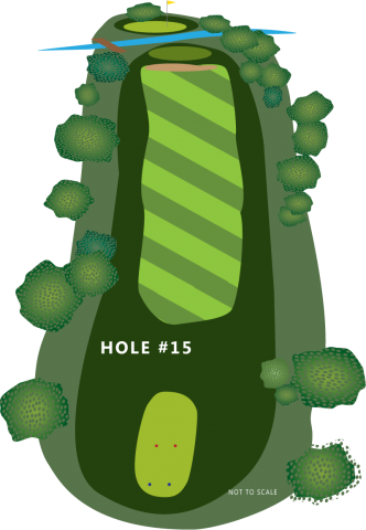 Hole 15 Illustration