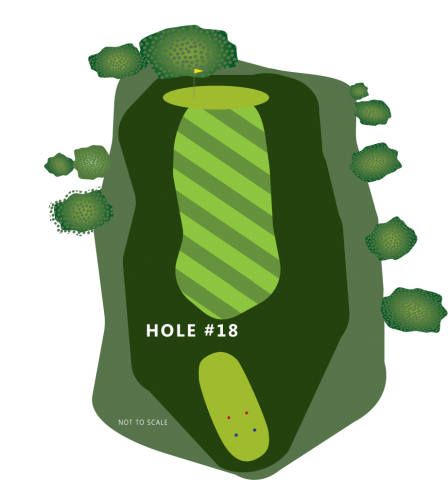 Hole 18 Illustration