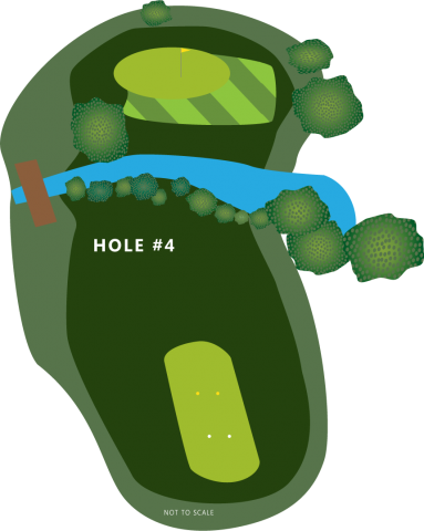 Hole 4 Illustration